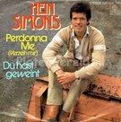Hein-Simons-Perdonna-Me