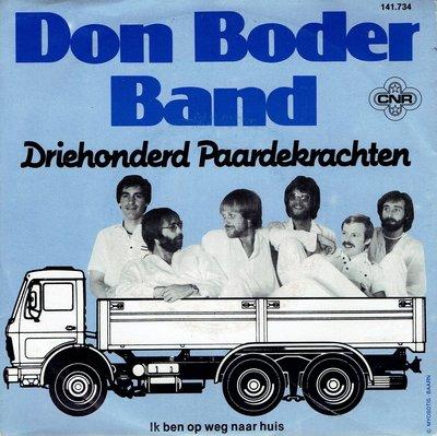 Don Boder Band - Driehonderd paardekrachten!