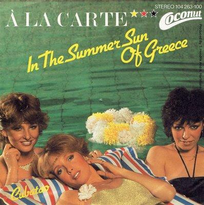 A La Carte - In the summersun of Greece