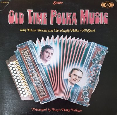 Frank Novak & Polka All Stars - Old time polka music (lp)