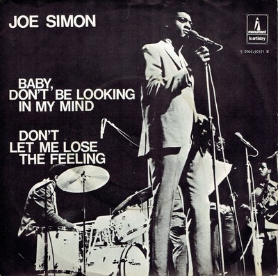 Joe Simon - Baby, don't be looking in my mind