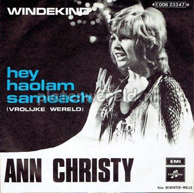 Ann Christy - Hey Haolam Sameach