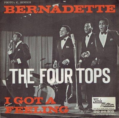The Four Tops - Bernadette