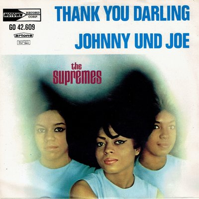 The Supremes - Thank you darling