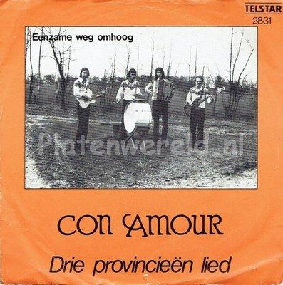 Con Amour - Drie provincieën lied