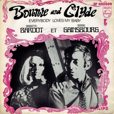 Brigitte Bardot et Serge Gainsbourg - Bonnie and Glyde