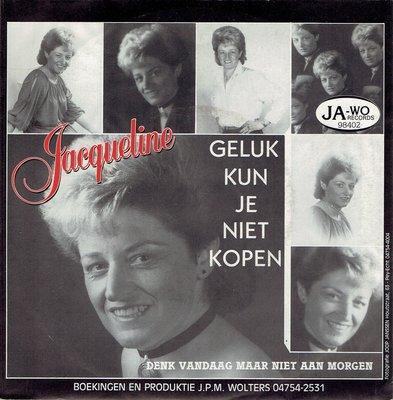 Jacqueline - Geluk kun je niet kopen