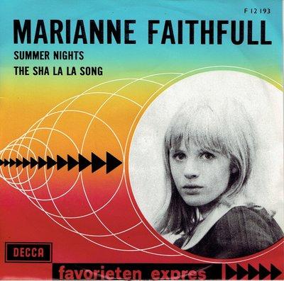 Marianne Faithfull - Summer nights