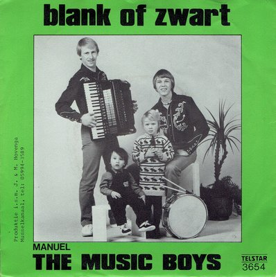 The Music Boys - Blank of zwart