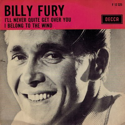 Billy Fury - I'll never quite get over you