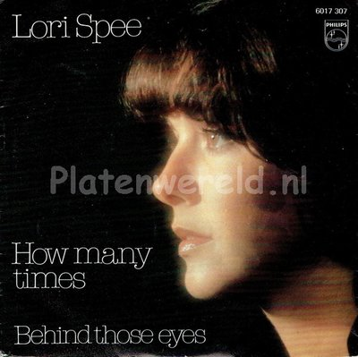 Lori Spee - How many times