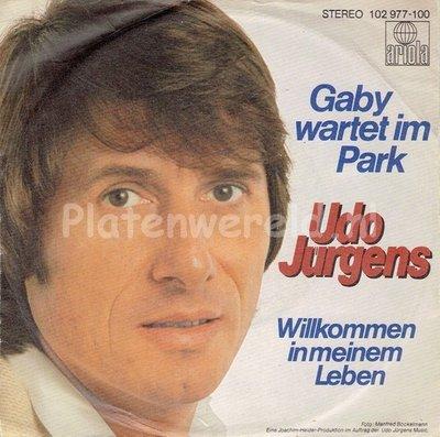 Udo Jurgens - Gaby wartet im park