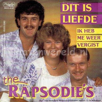 The Rapsodie's - Dit is liefde