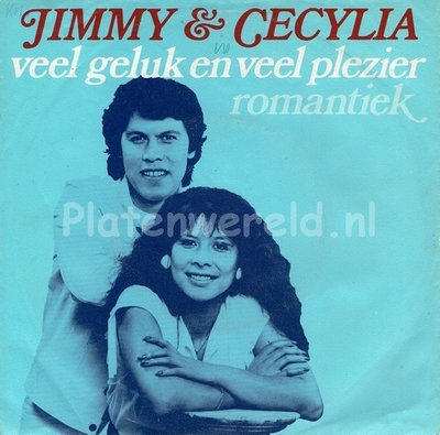 Jimmy & Cecylia - Veel geluk en veel plezier