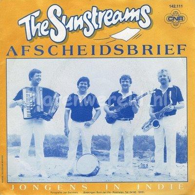 The Sunstreams, Afscheidsbrief