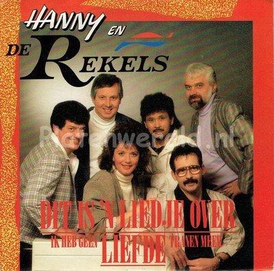 Hanny en de Rekels - Dit is 'n liedje over liefde
