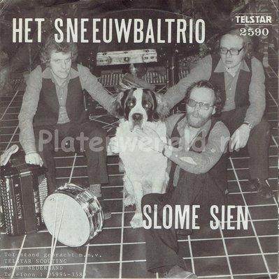 Het Sneeuwbal Trio - Slome Sien