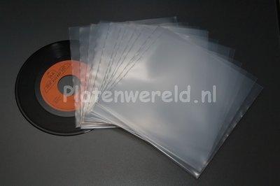 """Beschermhoezen 7"""" vinyl singles 100 stuks"""
