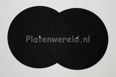 Slipmat zwart (set 2 stuks)