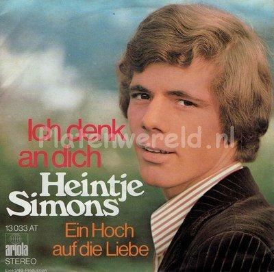Heintje Simons - Ich denk an dich