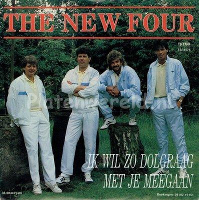 The New Four - Ik wil zo dolgraag met je mee gaan