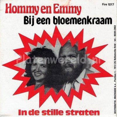 Hommy en Emmy - Bij een bloemenkraam