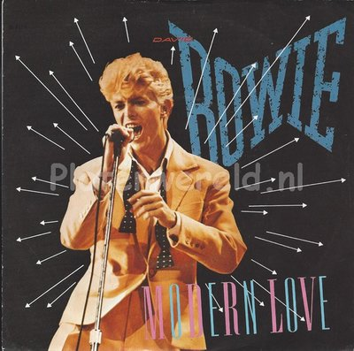 David Bowie ‎– Modern love