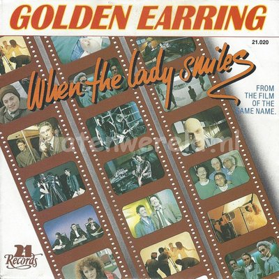 Golden Earring ‎– When the lady smiles