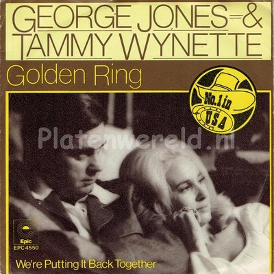 George Jones & Tammy Wynette - Golden ring