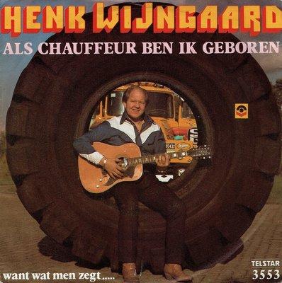 Henk Wijngaard - Als chauffeur ben ik geboren