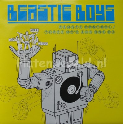 Beastie Boys - Remote Control/Three MC's And One DJ
