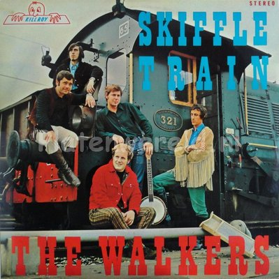The Walkers - Skiffle Train (LP)