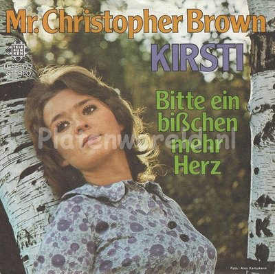 Kirsti ‎– Mr. Christopher Brown