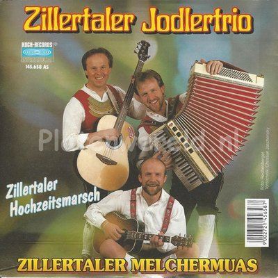 Zillertaler jodlertrio – Zillertaler melchermuas