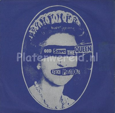 Sex Pistols ‎– God save the queen