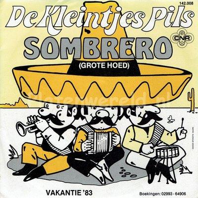 De Kleintjes Pils - Sombrero (grote hoed)