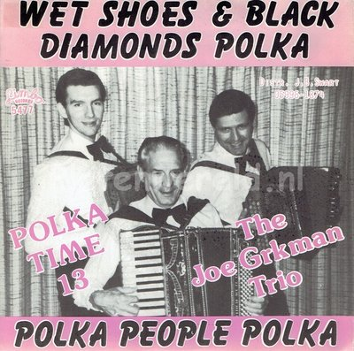 The Joe Grkman Trio - Wet shoes & black diamonds polka (polka time 13)