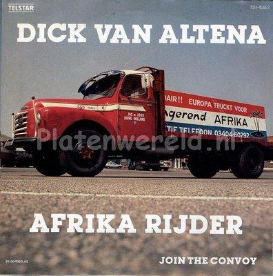 Dick van Altena - Afrika rijder