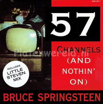 Bruce Springsteen - 57 Channels (And nothin' on)