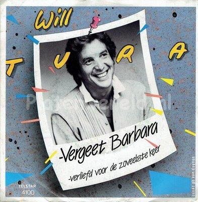 Will Tura - Vergeet Barbara