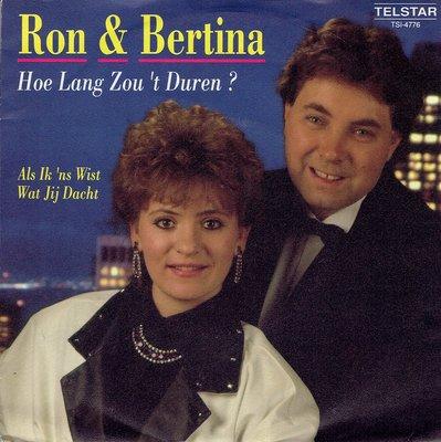 Ron & Bertina - Hoelang zou 't duren