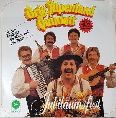 Orig. Alpenland Quintett, Jubiläumsfest (lp)