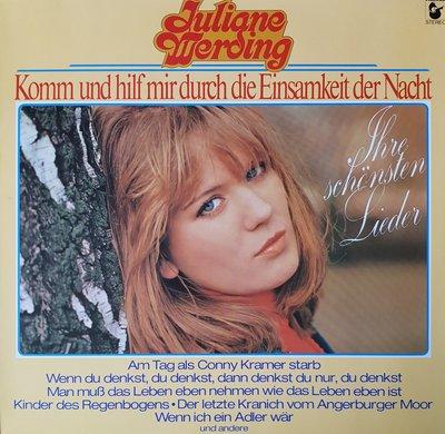 Juliane Werding - Komm und hilf mir durch die einsamkeit der nacht (lp)