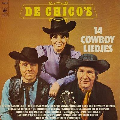 De Chico's - 14 cowboy liedjes (lp)