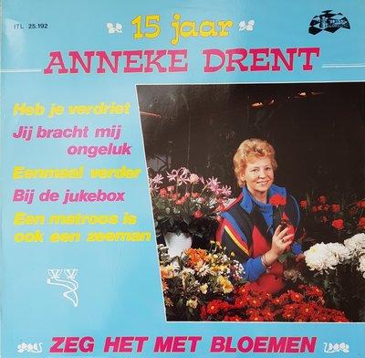 Anneke Drent - Zeg het met bloemen (lp)