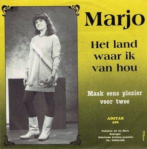Marjo - Het land waar ik van hou