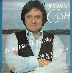 Johnny Cash - (Ghost) riders in the sky