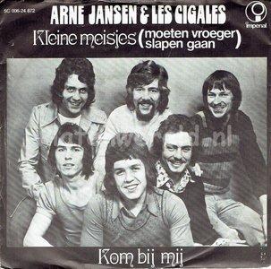 Arne Jansen en Les Gigales- Kleine meisjes
