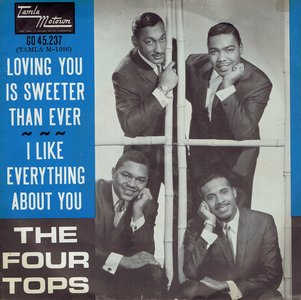 The Four Tops - Loving you is sweeter than ever