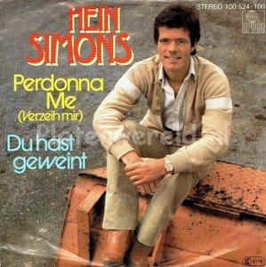 Hein Simons - Perdonna Me